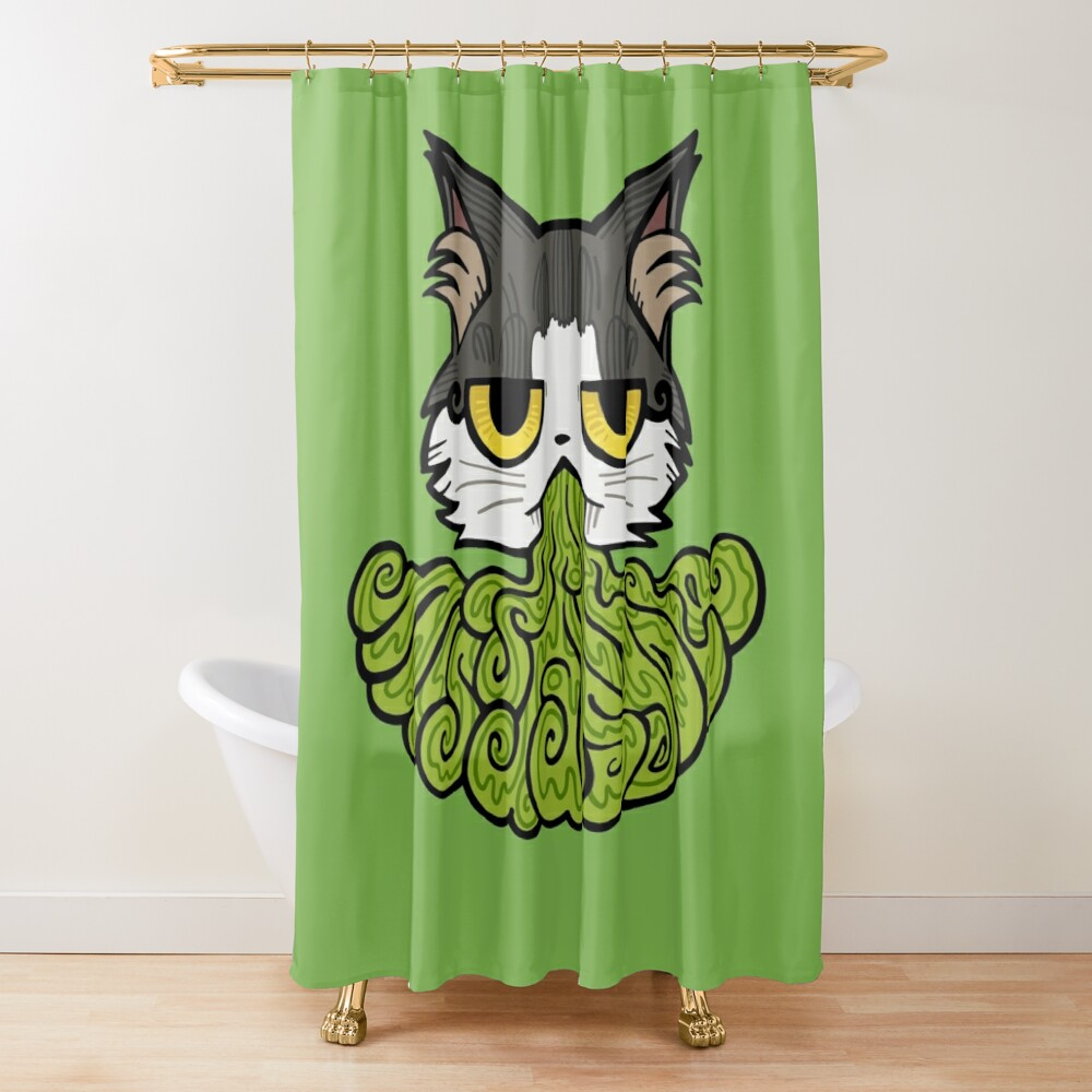 Twitch Mascot Trinket Shower Curtain
