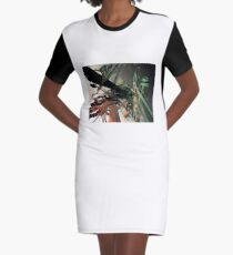 Cables Graphic T-Shirt Dress