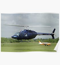 Bell Jet Ranger 206B Poster