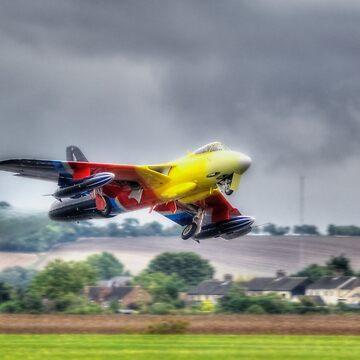 Hawker Hunter G-PSST by Nigdaw