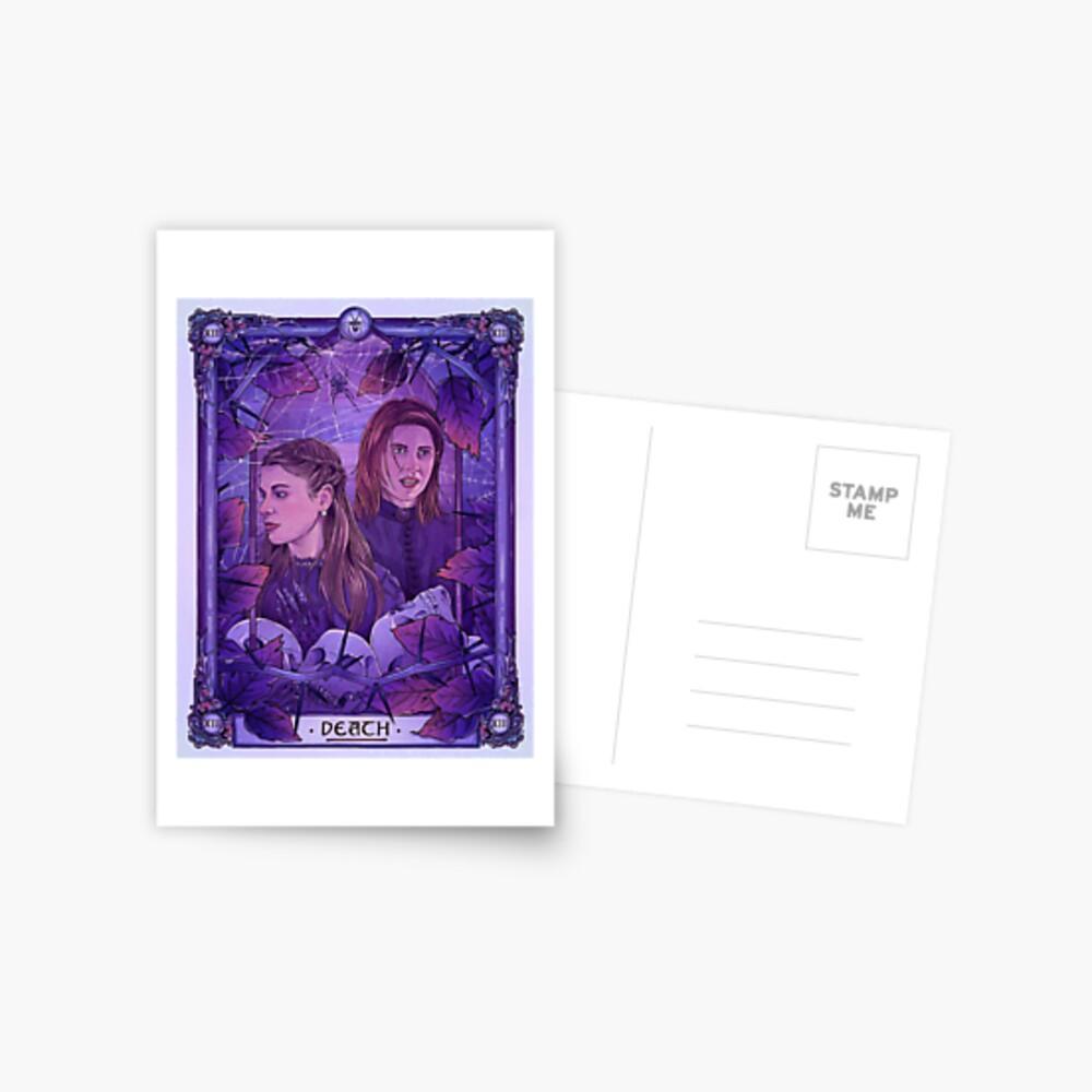 Die Witwen | Tod | Wynonna Earp Tarot Postkarte
