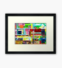 Tricky Framed Print