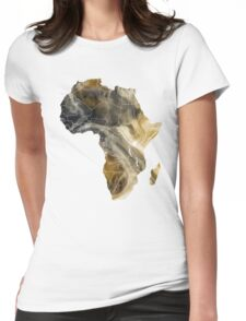 Africa map 8 Womens Fitted T-Shirt