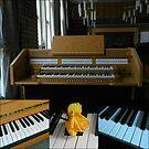 Tastaturen Musik Collage von VoxCeleste