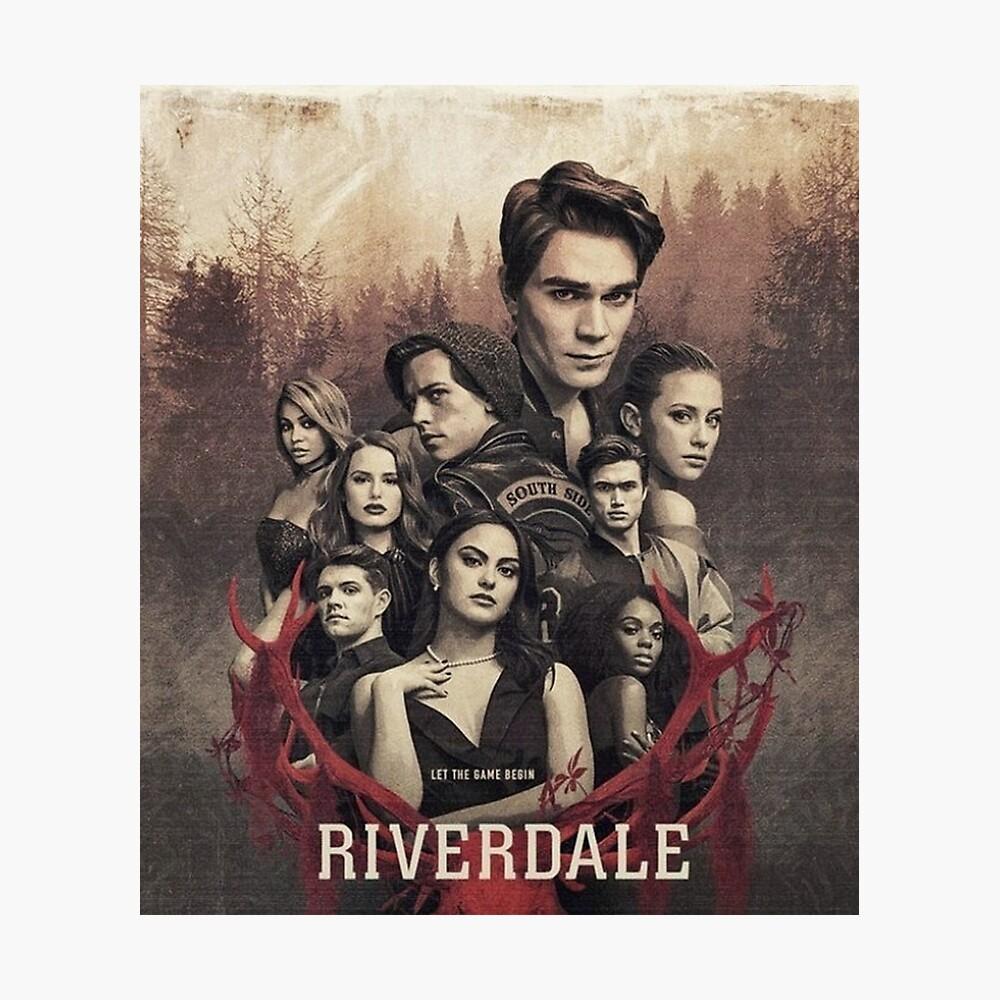 Riverdale Season 3 Cover Lámina fotográfica