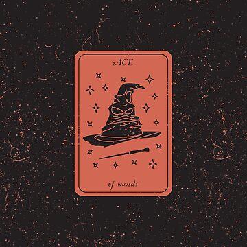 Tarot Card - Ace of Wands by SydneyKoffler