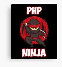 PHP Programmer Ninja Canvas Print