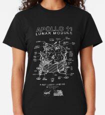 Apollo 11 Lunar Module-50th Anniversary, Mondlandung, Mond, Weltraum Classic T-Shirt