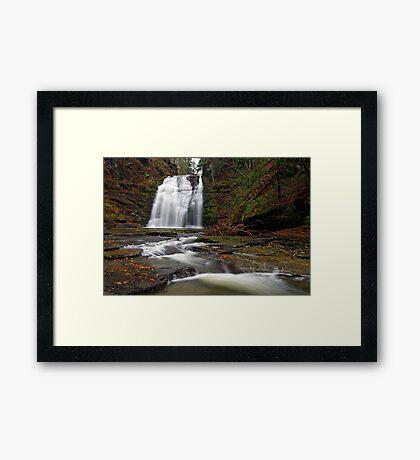 Rexford Falls Framed Print