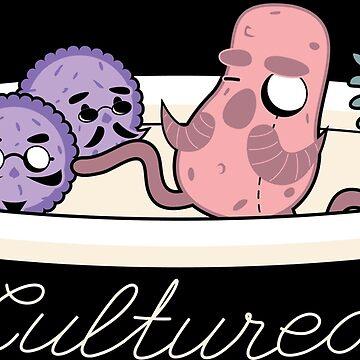 Gentlemen Microbes by gymdrunk