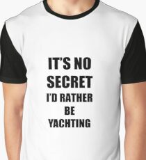 Yachting Sport Fan Lover Funny Gift Idea Graphic T-Shirt