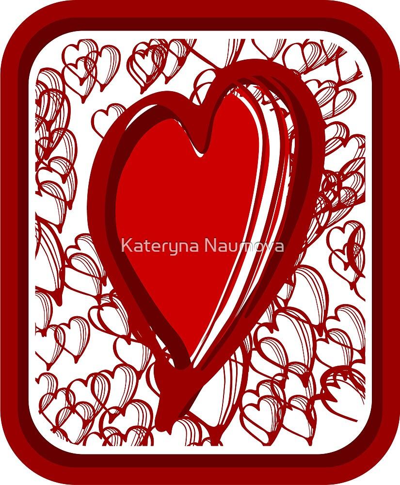 Big heart by Kateryna Naumova