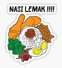 Nasi Lemak Sticker