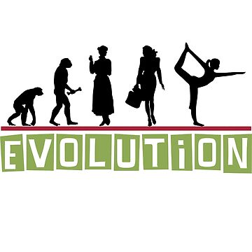 Yoga Evolution by T-ShirtsGifts