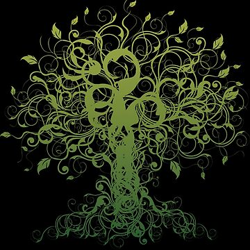 Meditate, Meditation, Spiritual Tree Yoga by T-ShirtsGifts