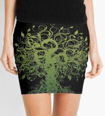 Meditate, Meditation, Spiritual Tree Yoga Mini Skirt