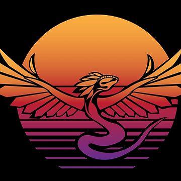 Sunfire Serpent by Kaegro
