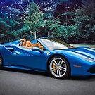 Supercar Blue by barkeypf
