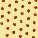 Red Tomato Pattern by Betty Mackey