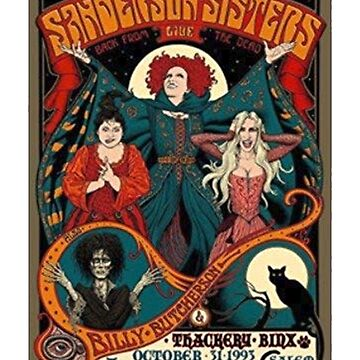 Hocus Pocus The Sanderson Sisters Halloween T Shirt by NorthAmericaTs
