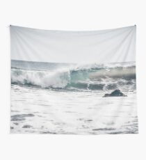 Mint, oceanside, people,  beach photography, California photography, California Wall Art Wall Tapestry