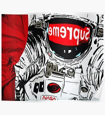 supreme astronaut Poster
