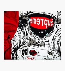 supreme astronaut Photographic Print