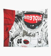 supreme astronaut Wall Tapestry