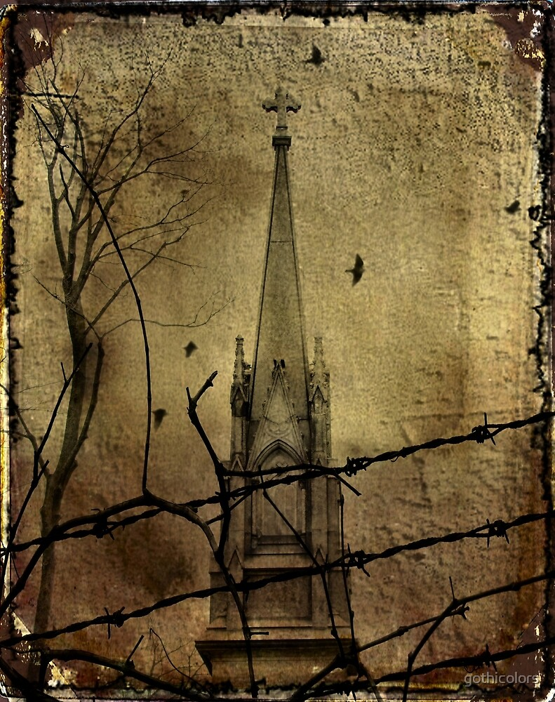 Behind The Barbed-Wire by gothicolors