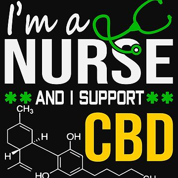 Marijuana Cannabis Support Proud Nurse CBD Cure Awareness Shirt Nurse 1 by normaltshirts