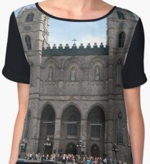 Notre-Dame Basilica, #NotreDameBasilica, #NotreDame, #Basilica, Montreal, #Montreal #City, #MontrealCity, #Canada, #buildings, #streets, #places, #tourists, #architecture, #monuments, #Cathedral Chiffon Top