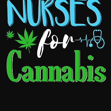 Marijuana Cannabis Nurse CBD Oil Supporter Awareness Shirt by normaltshirts