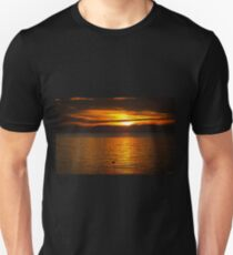 Where You Are Right Now - Sunset Art Unisex T-Shirt