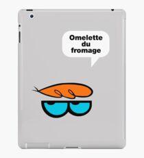 Omelette du fromage iPad Case/Skin