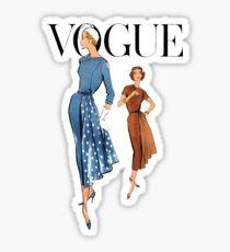 Vintage Patterns 9 Sticker