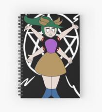 Demon girl Spiral Notebook