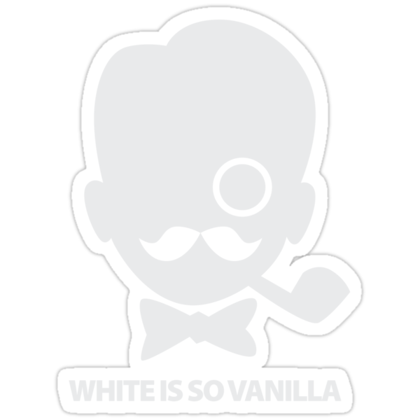 White is So Vanilla by iheartchaos