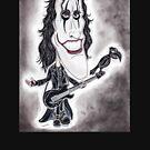 Dark Goth Legend Film Karikatur von MMPhotographyUK
