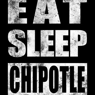 Funny Chipotle Lover Gift Idea by robcubbon