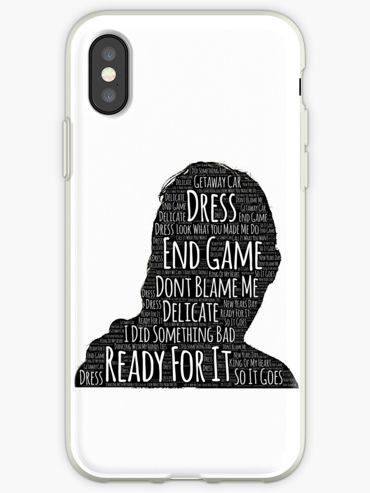 finest selection b2bb7 a12ce 'Taylor Swift' iPhone Case by Claire65