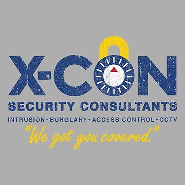 X-CON Security Consultants by huckblade