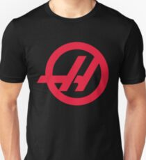 Haas F1 Logo Slim Fit T-Shirt