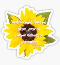 Primavera Sticker