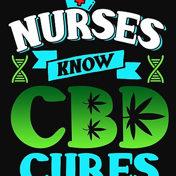 Marijuana Cannabis Nurse CBD Oil Cure Awareness Shirt Nurse Hat 2 by normaltshirts