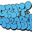 GRAFF TRASH - Bubble by paintcave