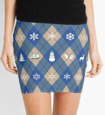 Shades of Winter Mini Skirt