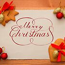 Merry Christmas Card by Vasily