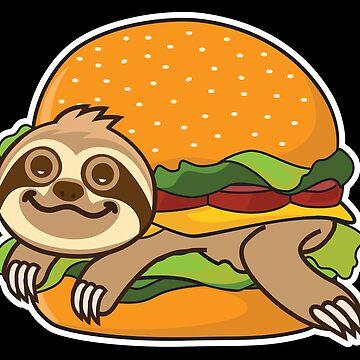 Sloth Burger  by plushism