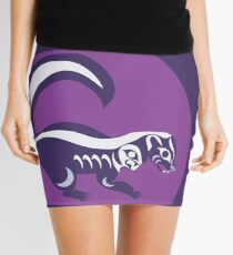 Skunk  Mini Skirt