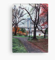 Whitestone Bridge Canvas Print